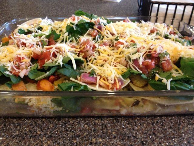 vegetable stacked enchiladas roasted vegetable stacked enchiladas ...