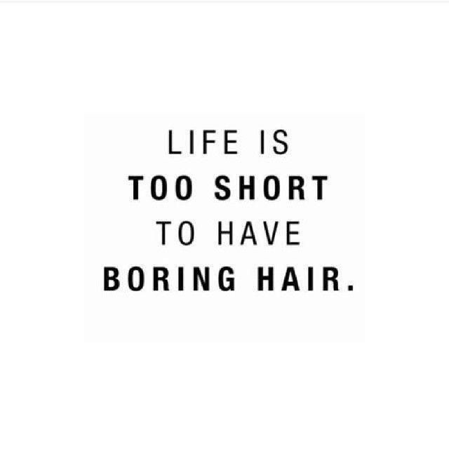 Girl Short Hair Quotes : Hair color quotes quotesgram