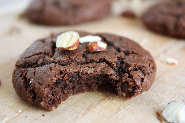 Chocolate Hazelnut Cookies | Sweet Eats: Cookies | Pinterest
