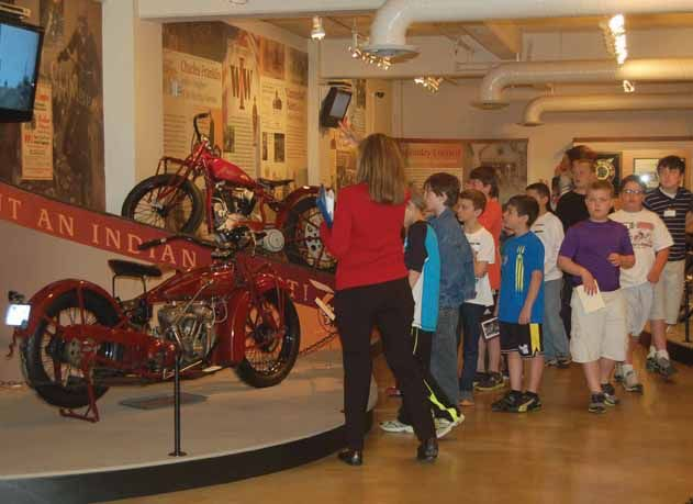 "Students investigate the lives of young people from the 19th and 20th centuries by listening for ""clues"" hidden in the museum galleries as they learn about the rise of industry in Springfield during their History Detectives tour."