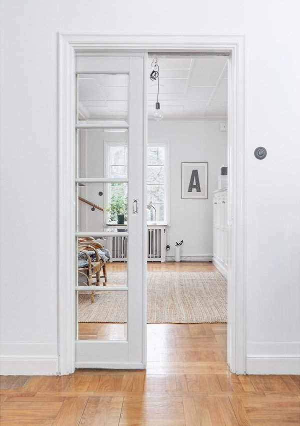 Interior cavity sliding french door house gorgeous 3 for Sliding doors that look like french doors