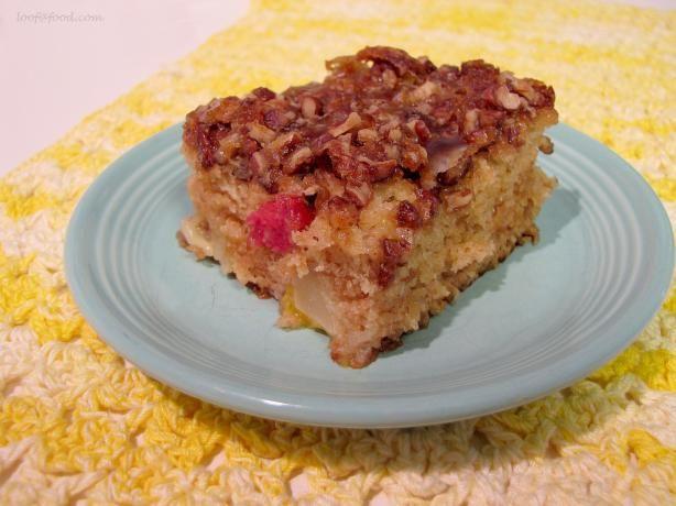 Momma s Fruit Cocktail Cake Recipe