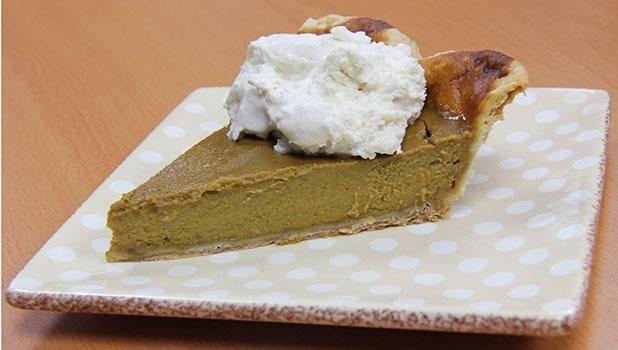 Bourbon Pumpkin Pie http://kcts9.org/recipes/bourbon-pumpkin-pie