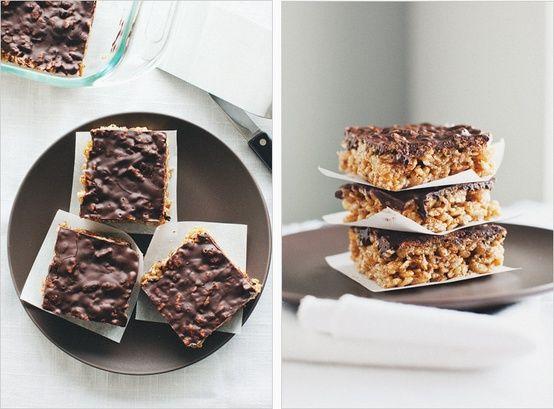 brown rice crisp treats   Food & Drinks   Pinterest