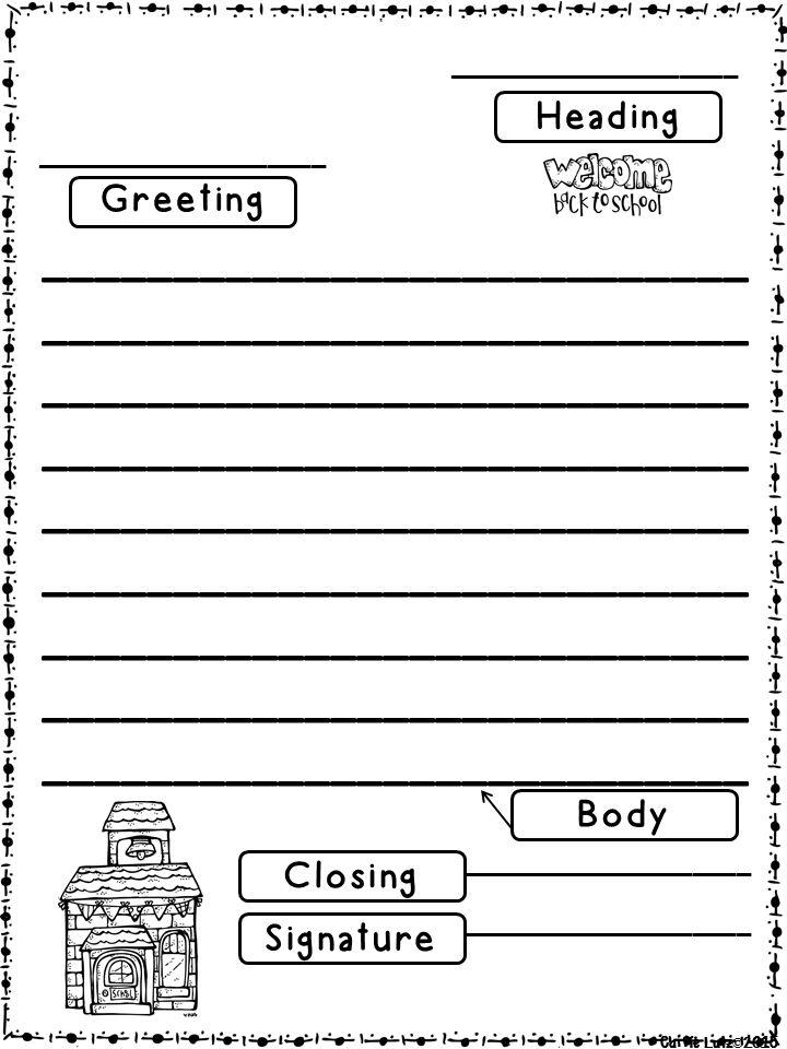 Formal letter format grade 6 spiritdancerdesigns Images