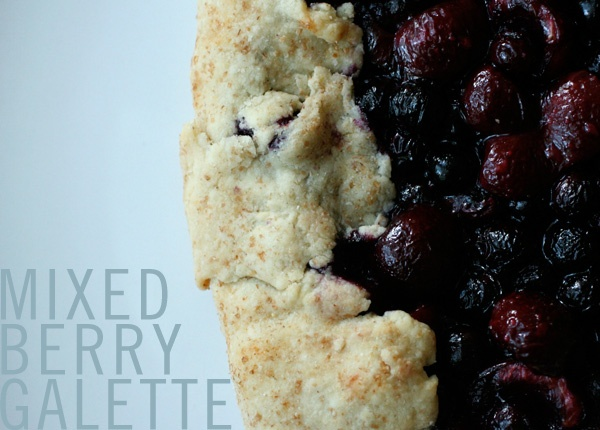 Mixed berry galette | Food - Sweets | Pinterest