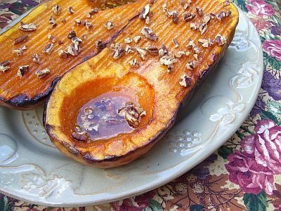 Gluten Free Maple Pecan Butternut Squash | Favorite Recipes | Pintere ...