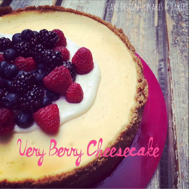 Very Berry Cheesecake | Cake Design Cupcakes & Bakery! | Pinterest