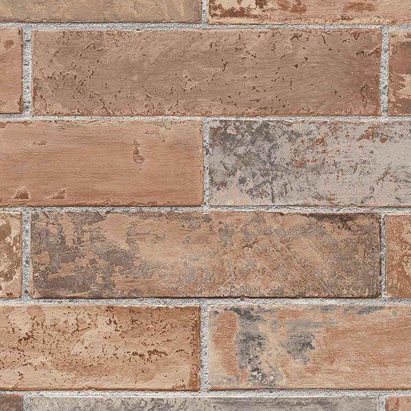 brown ll29534 faux brick wallpaper