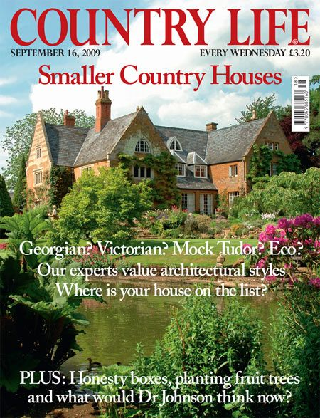 Country life magazine dream cottage pinterest for Country cottage magazine