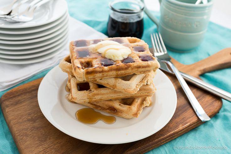 Vegan Sourdough Waffles | Cool Eats - Brunch & Breads | Pinterest