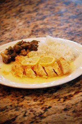 Lemon Chicken (oh so good!) | Chicken Recipes | Pinterest