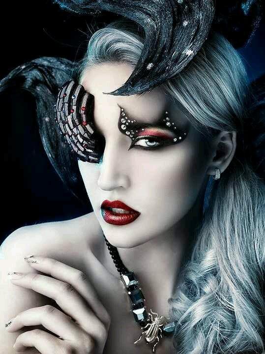 Gothic Wedding Makeup : Goth Gothic make up Beauty Pinterest