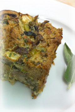 ... Bread Company: Fennel Mushroom Bread Pudding - Our Bread: Our Recipes