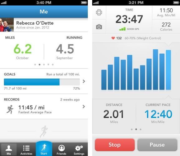 best run tracker app ios