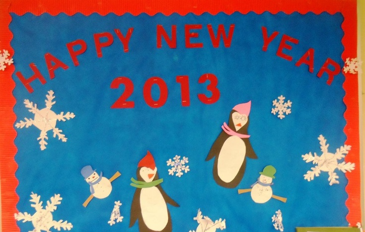bulletin boards new years | just b.CAUSE