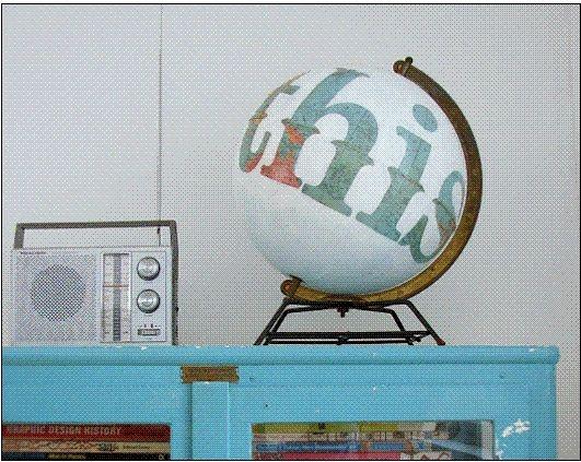 painted globe