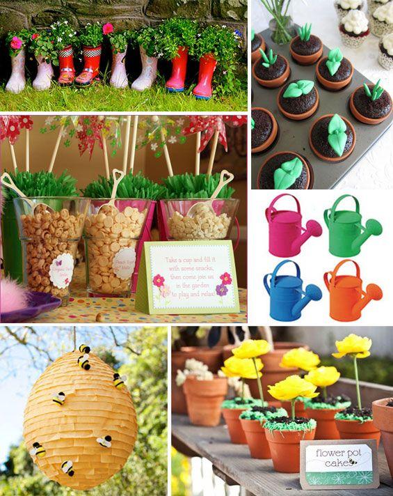 Garden Birthday Party 9 Kid Backyard Ideas Pinterest