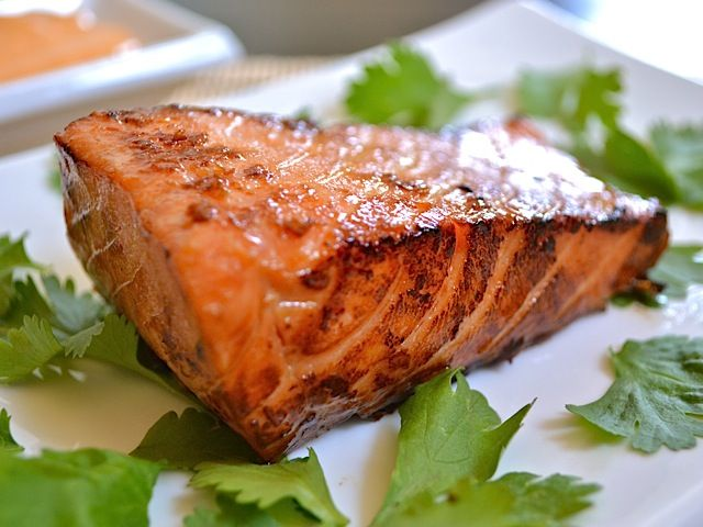 teriyaki salmon | Food | Pinterest