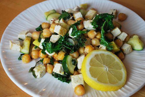 Lemony Chickpea Stir-fry | mmmm Food! | Pinterest