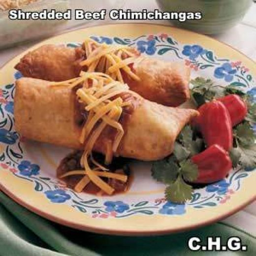 Shredded Beef Chimichanga Recipes