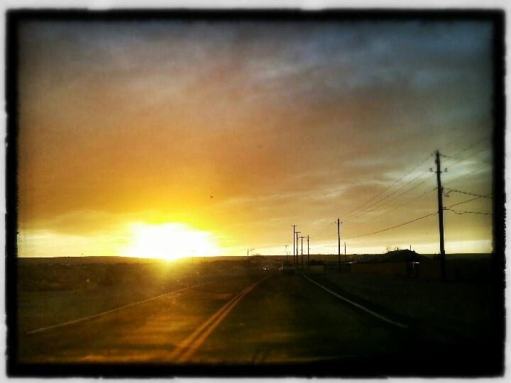 Albuquerque new mexico sunset