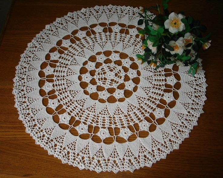 Knitting Crochet Com Patterns : knitting - Crochet Doilies Patterns Knitting Pinterest