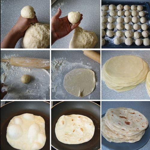 How To Make Homemade Flour Tortillas http://homestead-and-survival.com ...