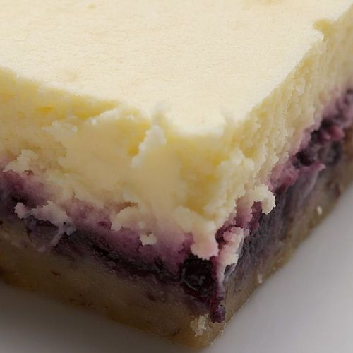 Lemon Blueberry Cheesecake Bars | Yummy!!! | Pinterest