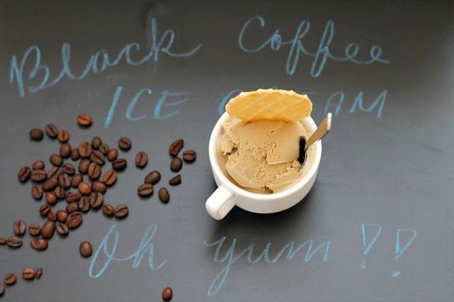 my bare cupboard: Black coffee ice cream | frozen treats | Pinterest