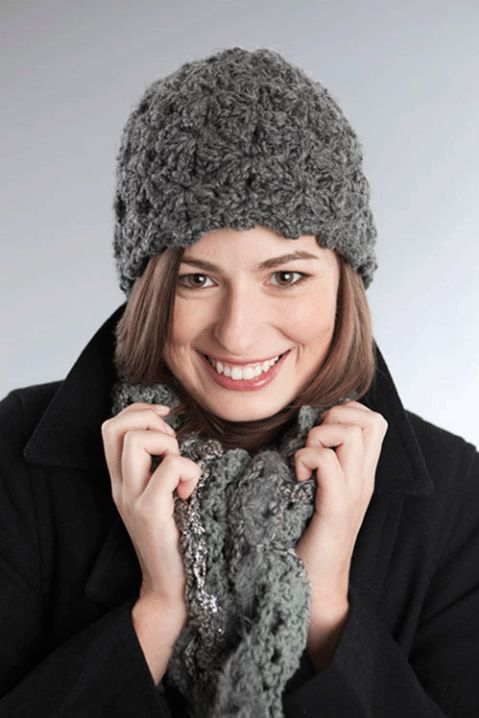 Easy Chunky Crochet Hat Pattern : Easy chunky crochet hat pattern Crochet Hats Pinterest