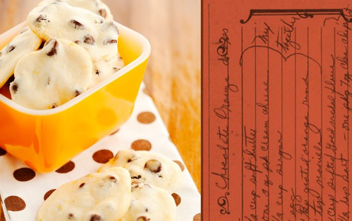 Chocolate Orange Drop Cookies   Cookies   Pinterest