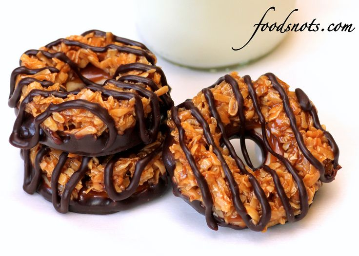 Homemade Samoas | Coco - NUTS!!! | Pinterest
