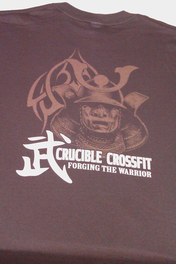 Logo Design for a Crossfit Gym : T-Shirt Design : Pinterest