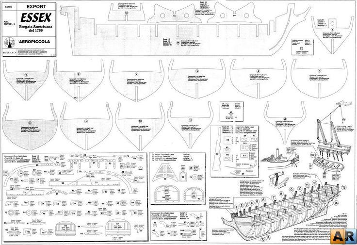 Как сделать фрегат своими руками чертежи и описание 99