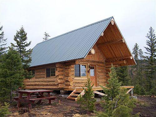 Montana Mobile Cabins Log Cabins Pinterest