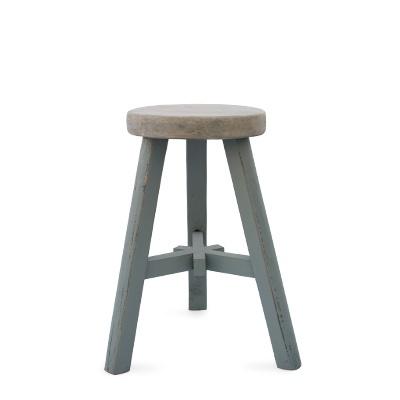 Urban Home gray farmhouse stool - only $39.99!