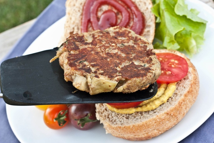 Eggplant burgers | Dinner Inspiration - Veg | Pinterest