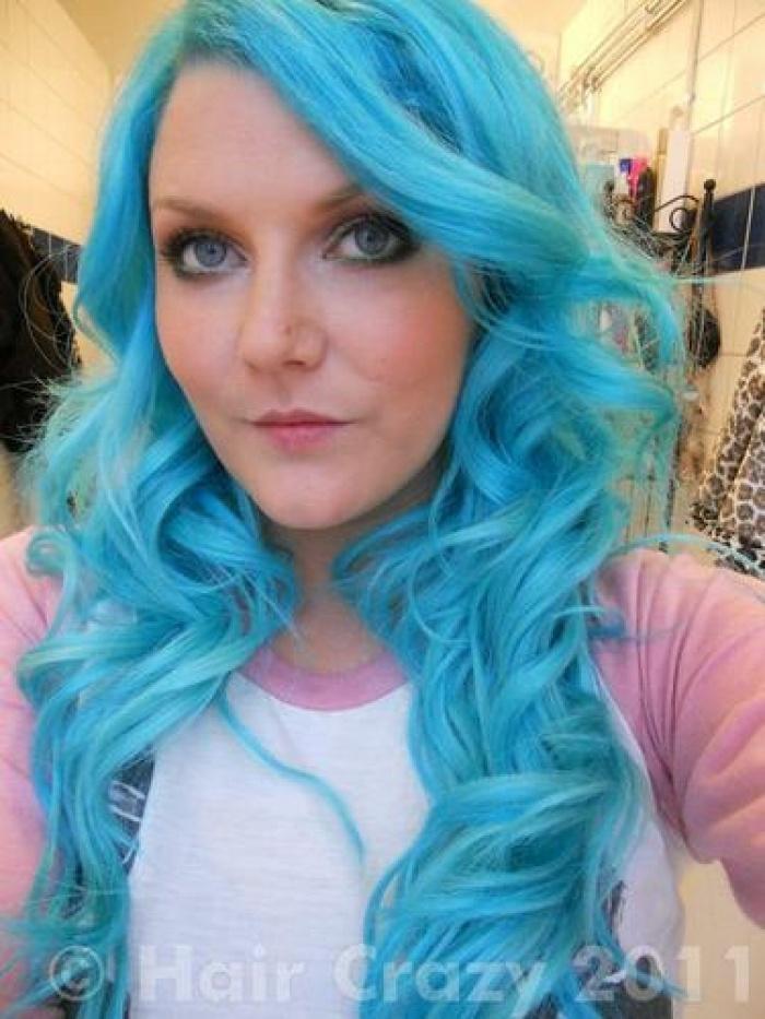 Turquoise Hair Dye Turquoise Pinterest
