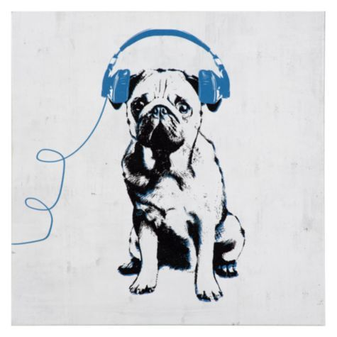 Z Gallerie Pug Music Love Pug from Z ...