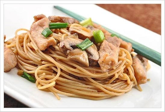 Pork and Noodles: Try a quick, easy and economical Chinese-style stir ...
