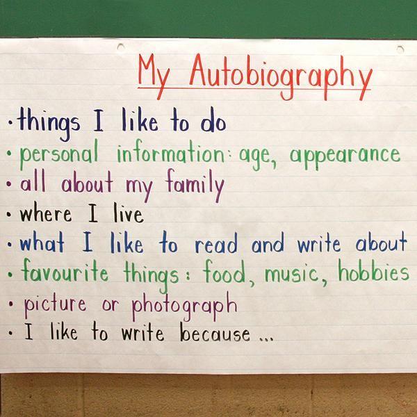 Write my biography life
