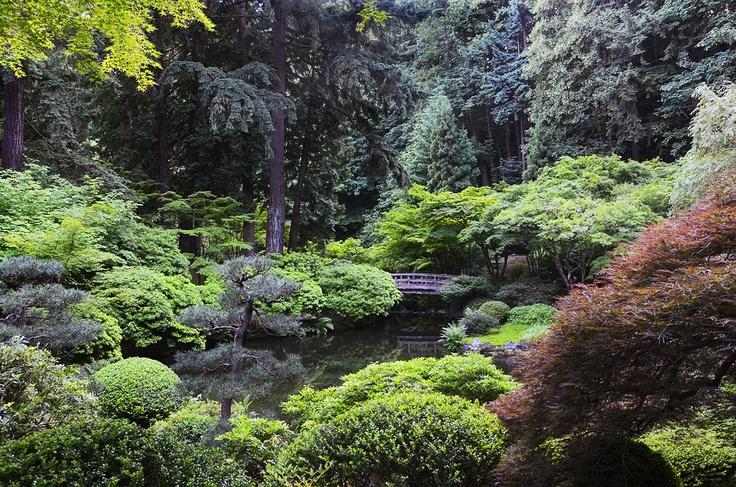 Japanese Garden Portland Oregon Car Interior Design
