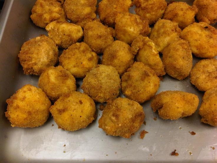 Fried Mac & Cheese Balls | A little bit about me | Pinterest