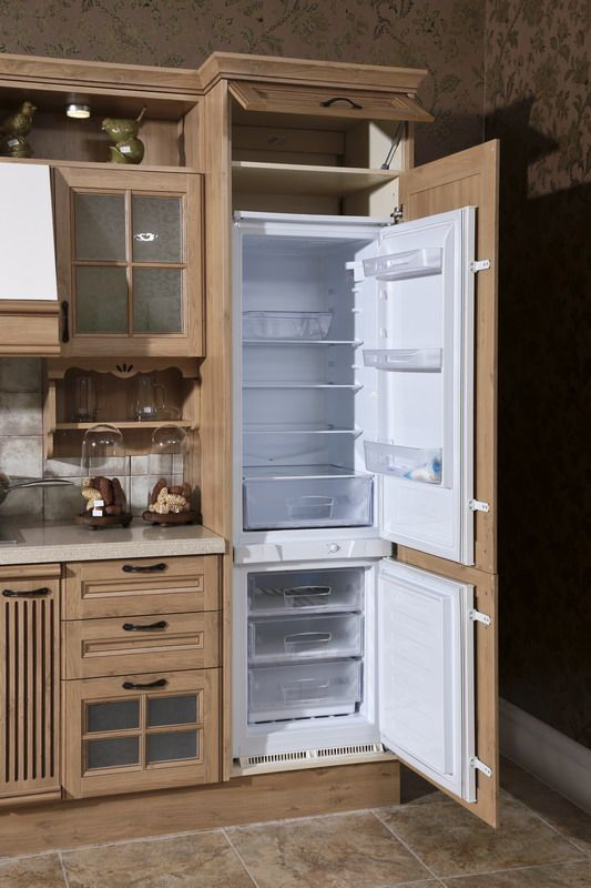 Oppein line type kitchen cabinet with pp finish model
