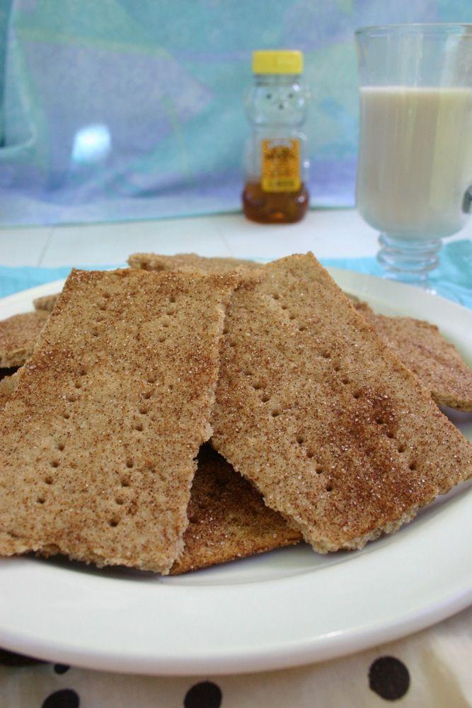 Jesicakes: Gluten Free Cinnamon Sugar Graham Crackers | Gluten Free ...