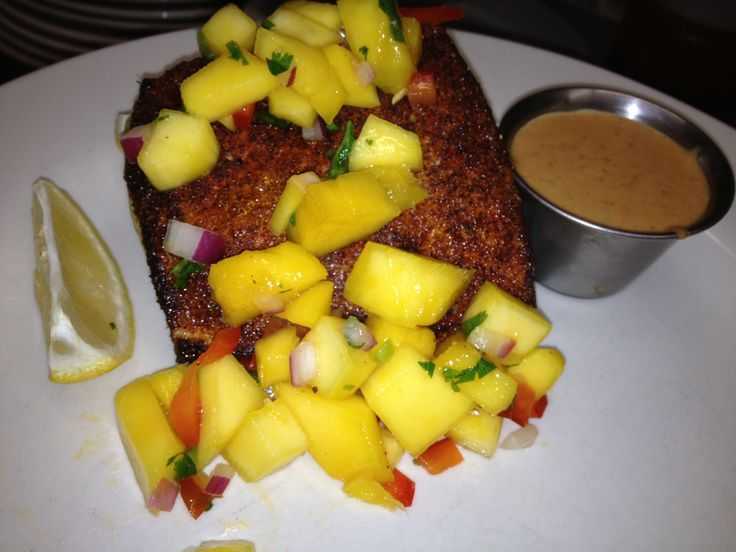 salsa mango mania salsa salmon with mango salsa blackened tuna steaks ...