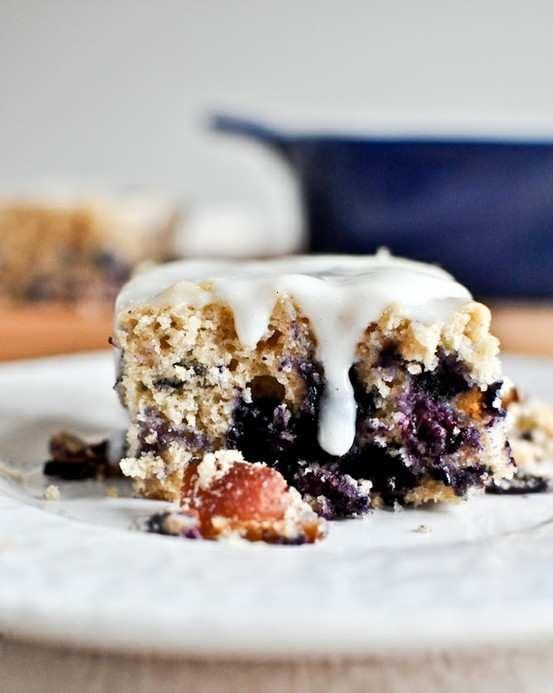 blueberry bacon breakfast cake | Breakfast Ideas | Pinterest