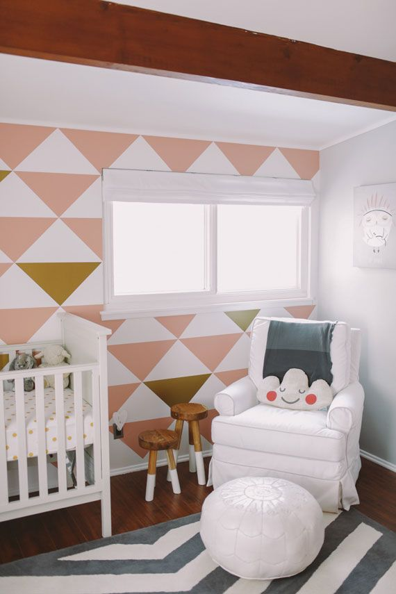 Pink & Gold Baby Nursery « Spearmint Baby