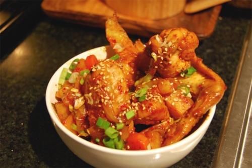 Korean Spicy Chicken Stew Recipe — Dishmaps